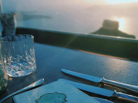 Athenia House, a luxury restaurant in Santorini
