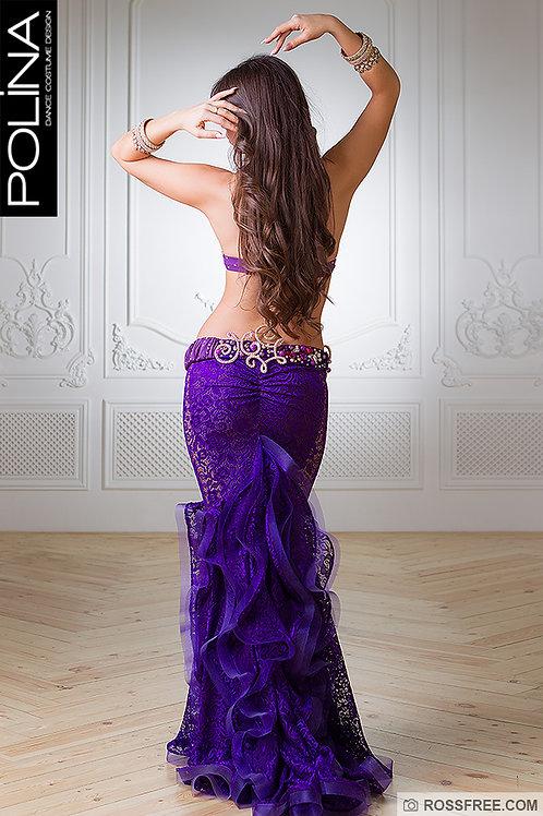Violet bellydance costume