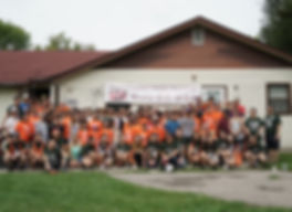 Volunteers and Adoptees at the Annual KCAA Summer Heritage Camp