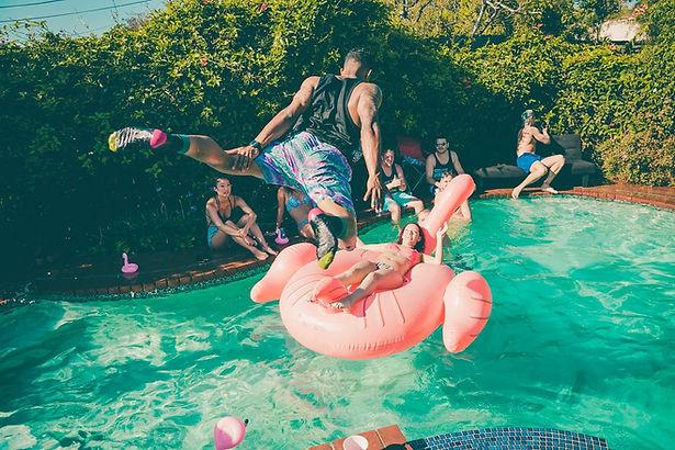 Fiesta de piscina