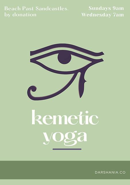 Kemetic Yoga Green Flyer.png