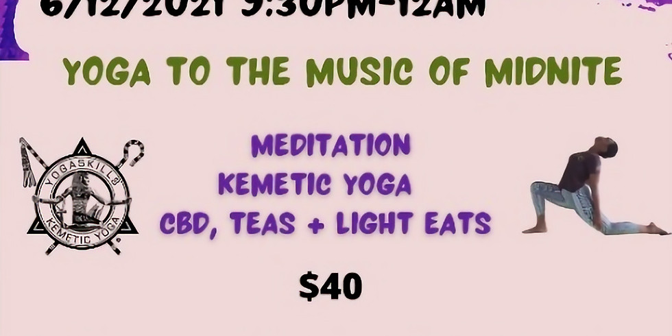 A Healing : Yoga to the music of Midnite