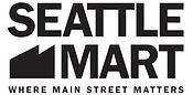 Seattle Mart Logo Black on White Logo.jp