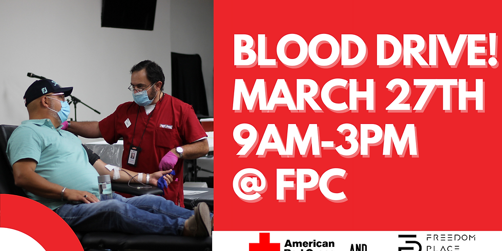 Blood Drive (BLOOD DONOR INFO)