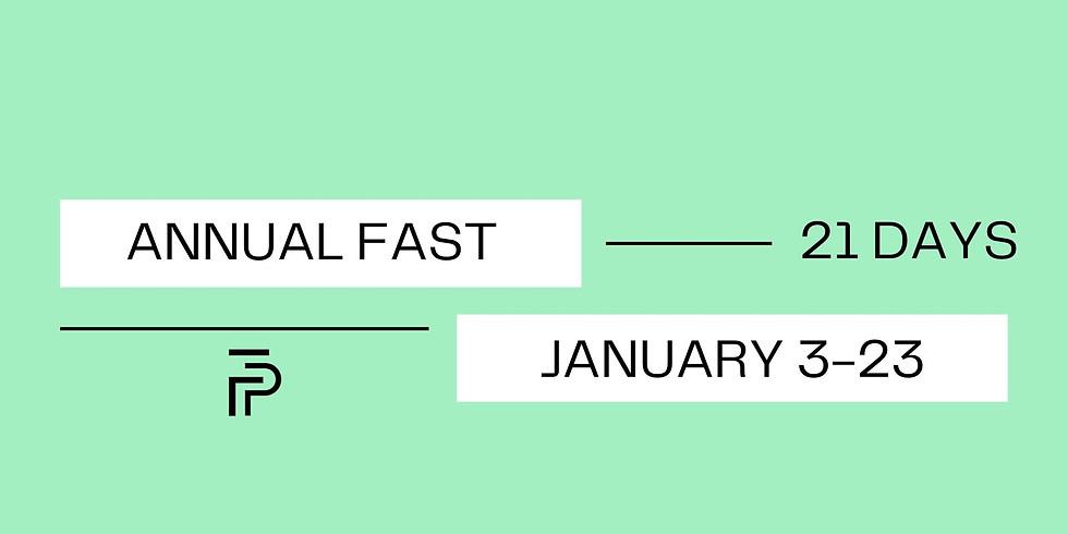 Annual Fast