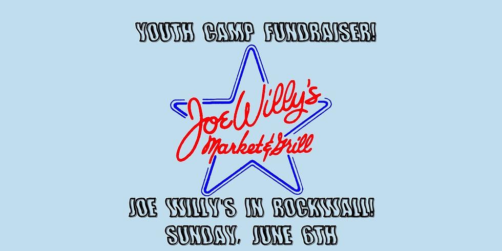 Joe Willy's: Youth Camp Fundraiser