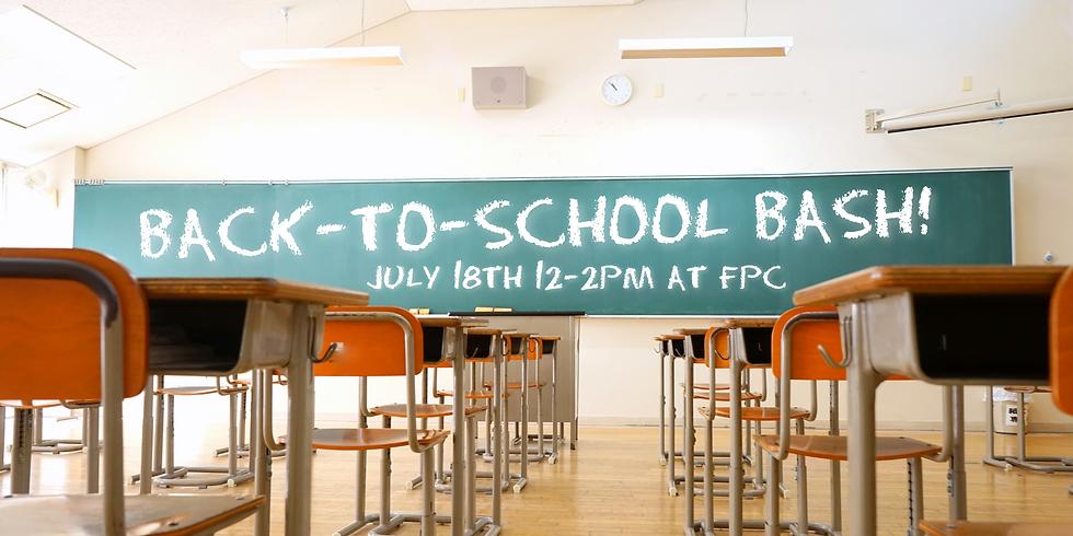 Back-to-School Bash! (VOLUNTEER SIGN-UP)