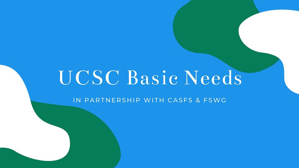 Basic Needs Banner