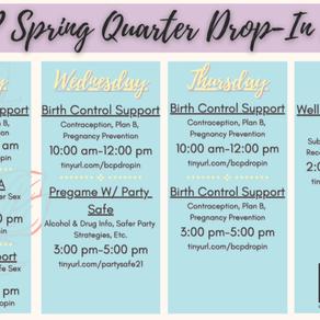 Spring Quarter SHOP Hours!