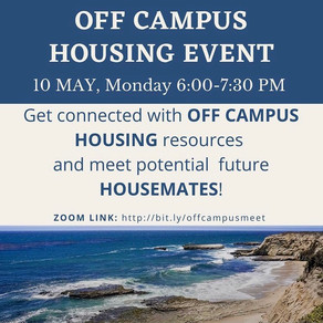 On and Off-Campus Housing Events