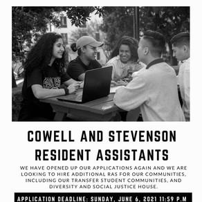 Fall 2021 Job Opportunities - Part 1!