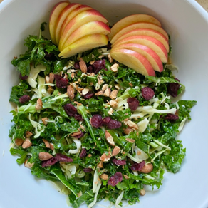 Struggling to Eat Enough Vegetables? You're Not Alone. Two Salad Recipes to Get in Your Greens!