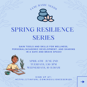 Gain Tools for Wellness with the Spring Resilience Series!