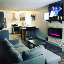 Fully Renovated Upstairs; Custom Feature, Island, Shelves