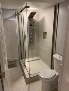 Custom Shower, Bathroom Renovation