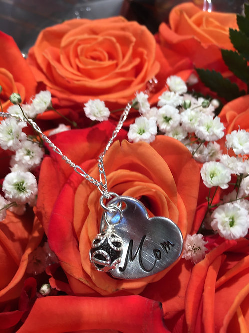 Cupped Heart Necklace