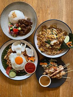 Bandung Cafe takeaway menu