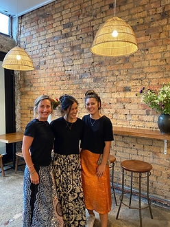 Julie, Me, Cleo from Bandung Cafe