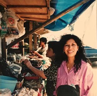 Mum at the Bandung Market