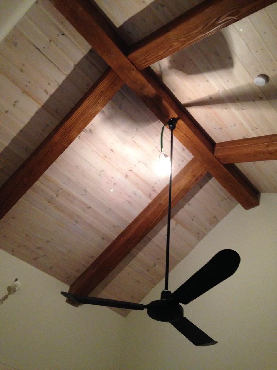 מבט מקרוב על פרט התקרה
