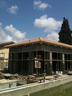 בשלב הבניה