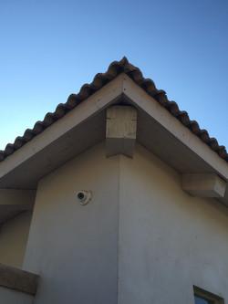 פרט פינה בגג