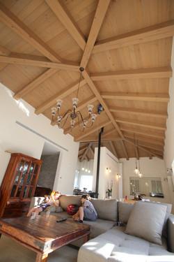 תקרה גושנית בסלון -המלוק קנדי
