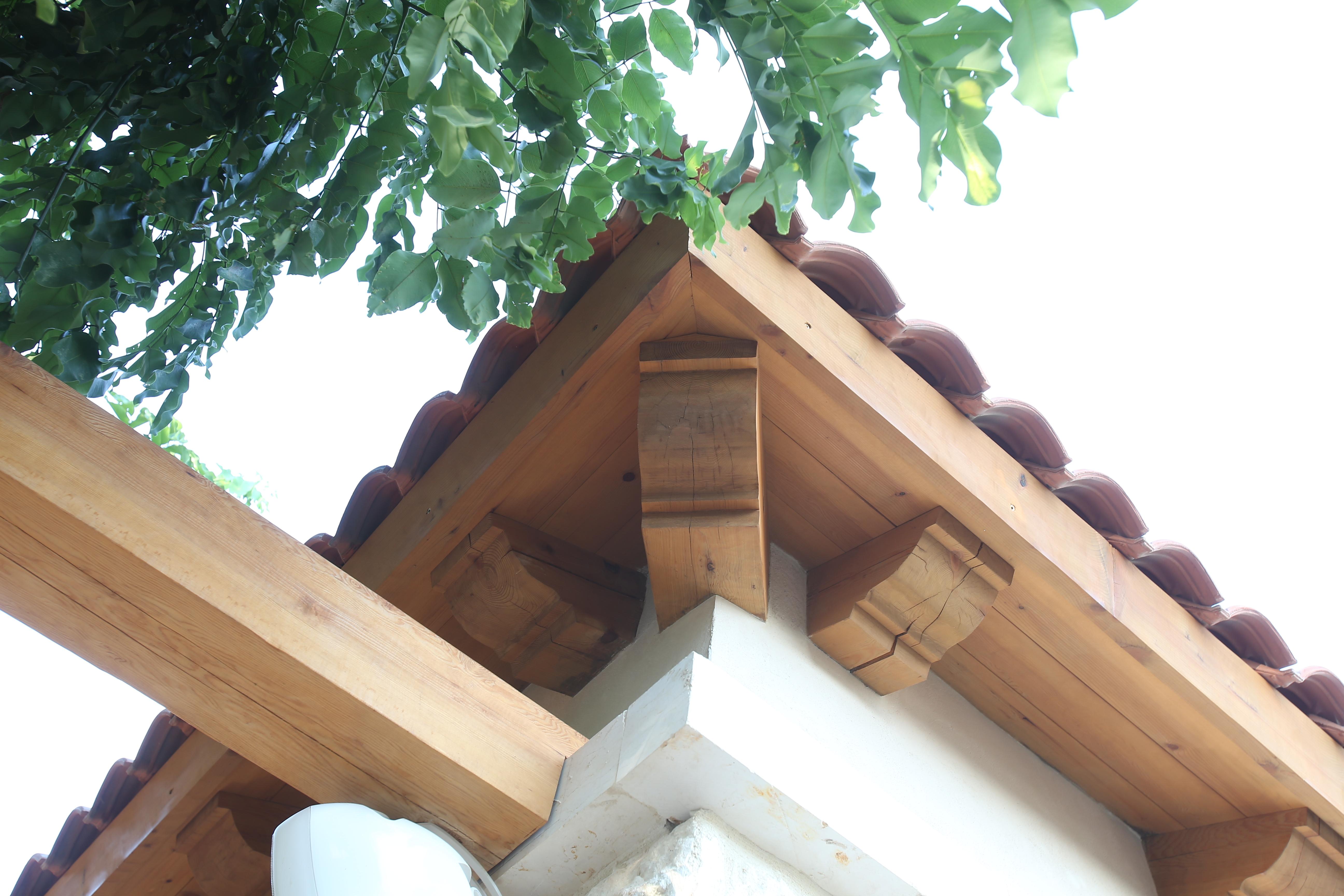 גג יציאות עם ארגז רוח