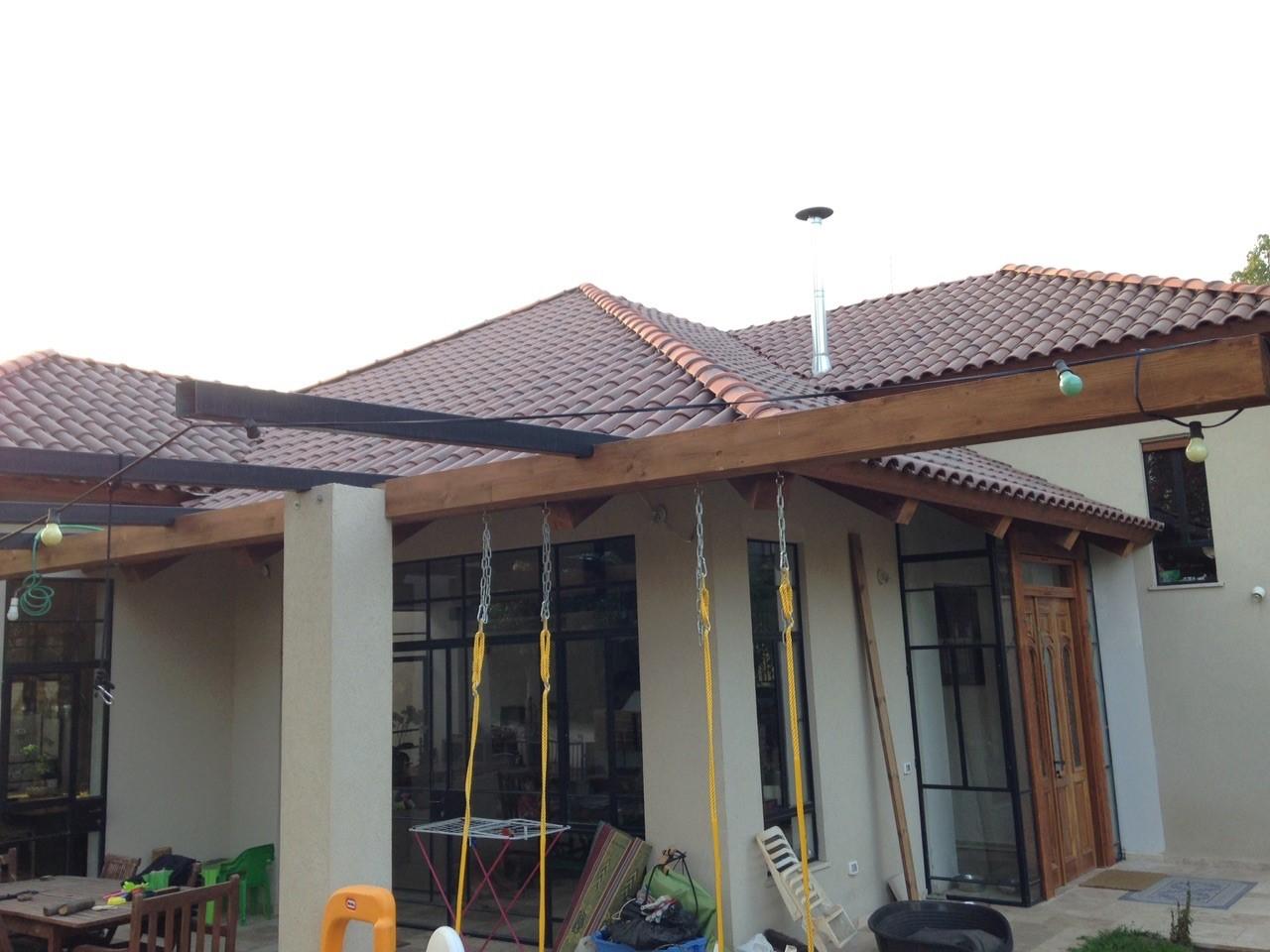 גג רב שיפועי