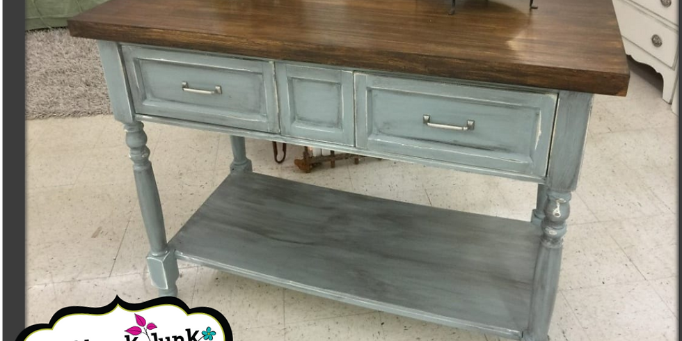 WHY NOT RE-DESIGN?? FURNITURE PAINT CLASS