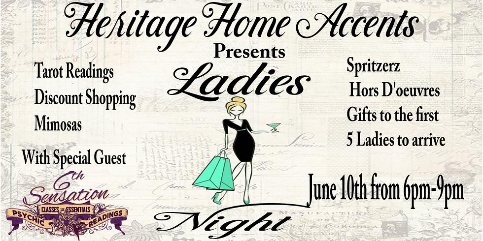 Ladies Night at Heritage Home