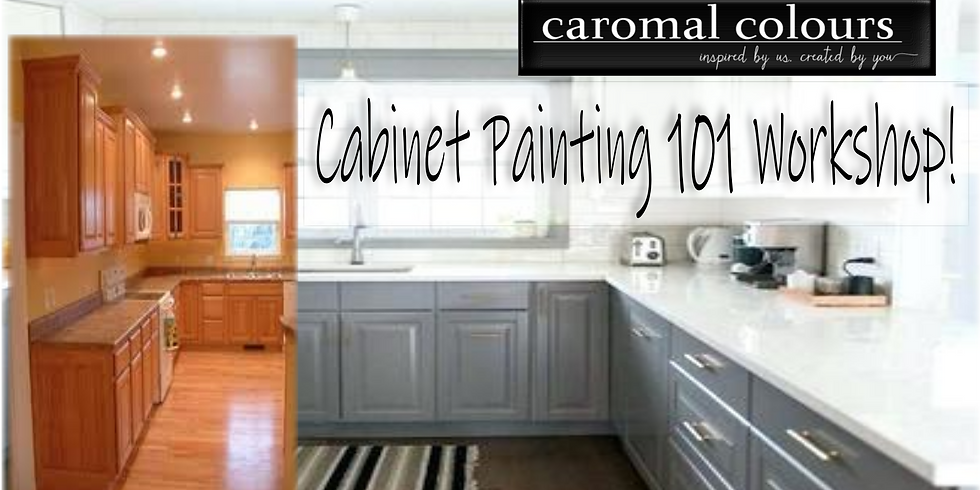 Cabinet Painting 101 Class!