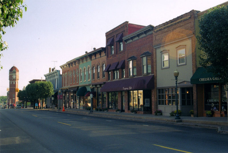 Downtown Chelsea Michigan