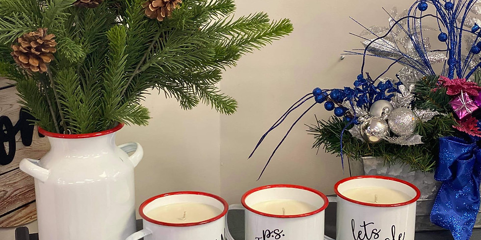 VALENTINE CANDLE GIFT MUGS CLASS 2