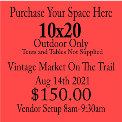 10x20 Market On The Trail