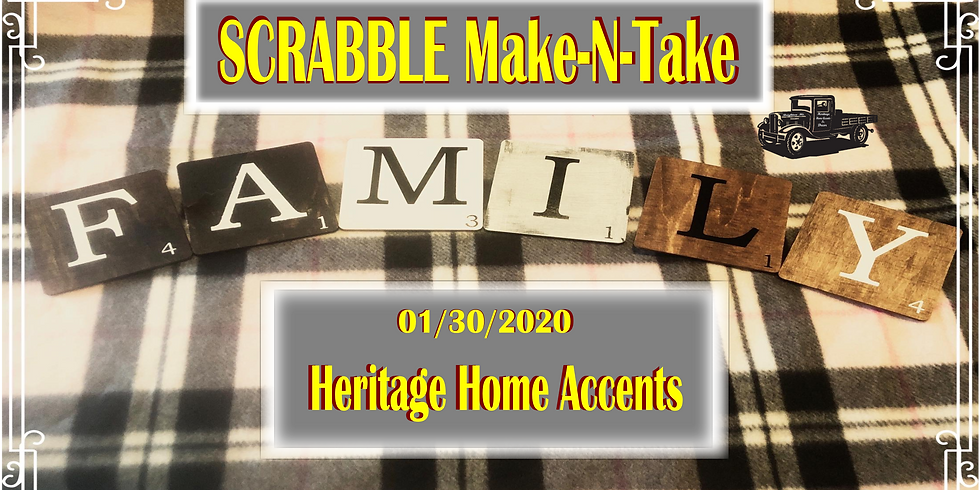 Scrabble Make-N-Take