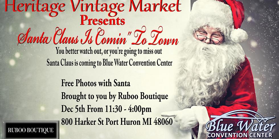 Heritage Vintage Market Presents Santa Claus