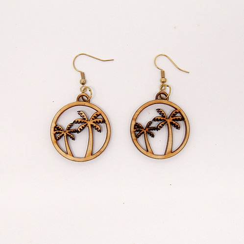 Palm Tree Earrings