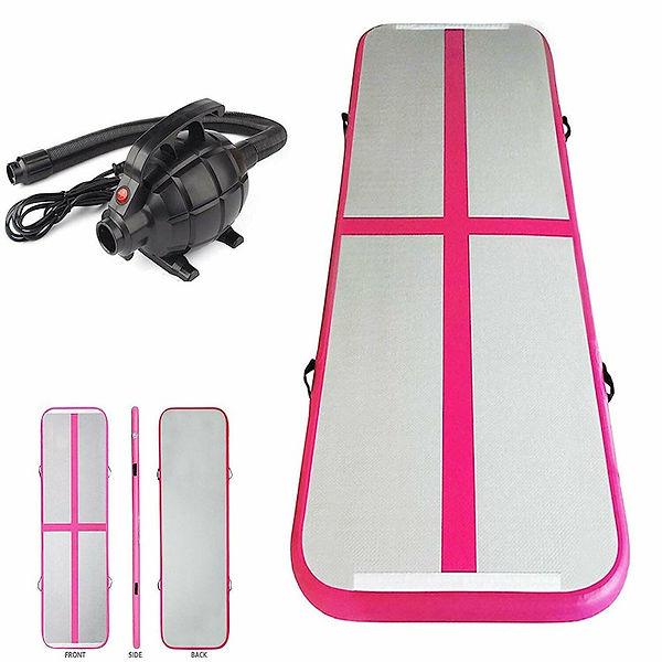 3x1x0.1m-pink-gymnastics-mat-electric-pu