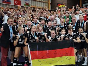 DOT oefent tegen Team Deutschland Korfball