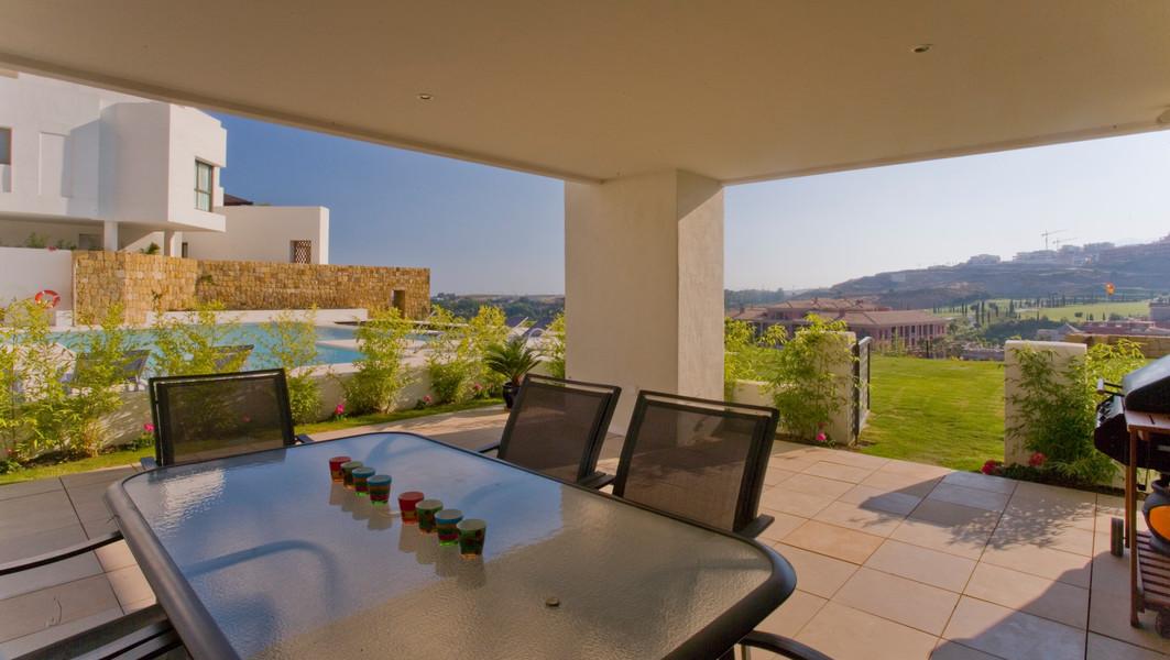 Spacious ground floor terrace