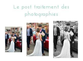 Le post traitement de vos photographies de mariage