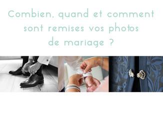 Comment, quand et combien de photos pour votre mariage ?