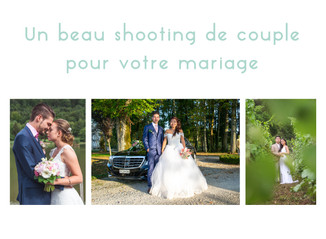 Votre shooting de mariage
