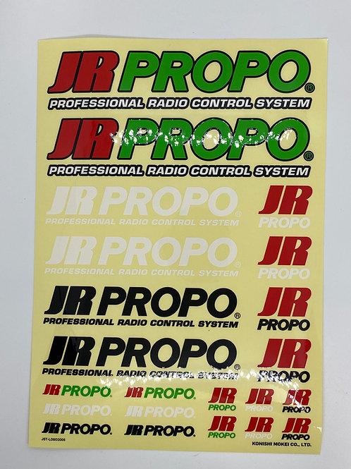 JR PROPO Decal Sheet