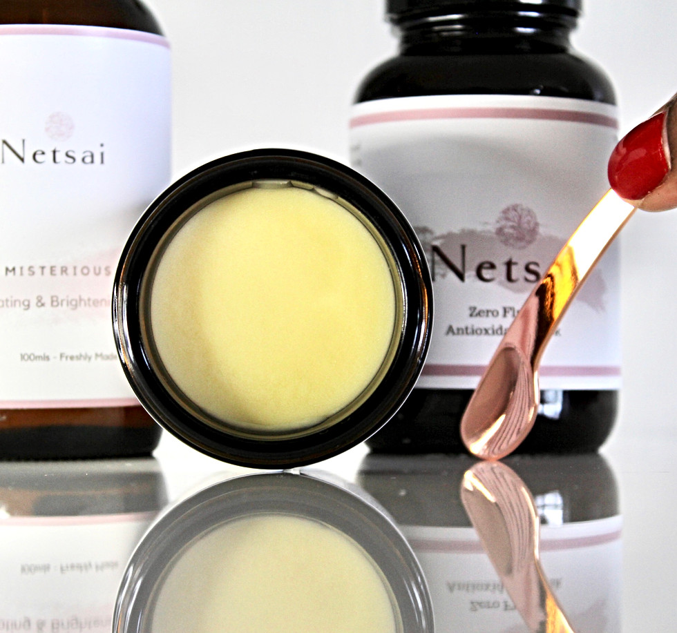 Rose and Avocado Cleansing balm