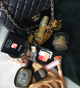 Guerlain primer and hand bag
