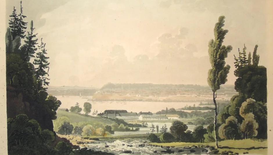 George Heriot_1807_Distillerie côté nord