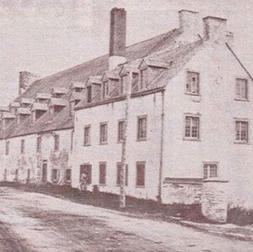 Moulin Brown avant l'incendie de 1880, Bibliothèque et Archives Canada, C-086856