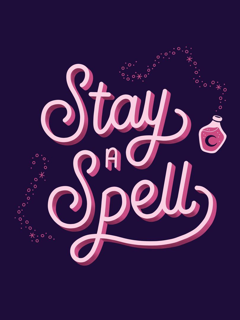 Stay a Spell logo 2
